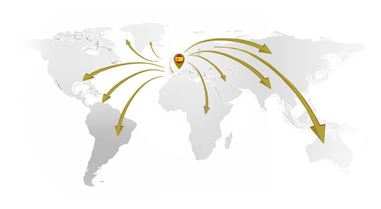 paletas para bomba de vacio mapa-internacional
