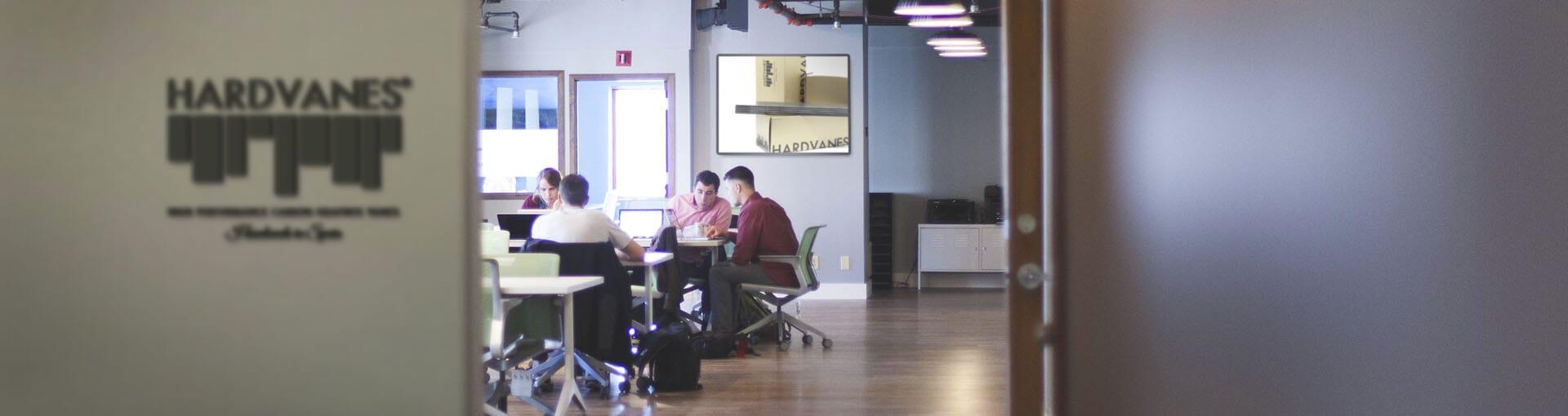 office vane-hardvanes-contact